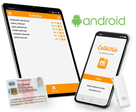 Mobilni čitač lične karte