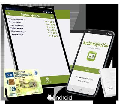 Saobracajna2Go - mobilni čitač saobraćajne za android
